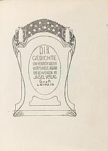 Vogeler, Heinrich. Dir. Gedichte. Mit Illustration
