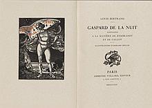 Bertrand, Louis. Gaspard de la Nuit. Fantaisies à