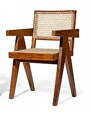 PIERRE JEANNERET(1896 - 1967)ARMCHAIR, model