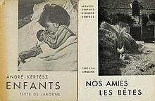 Kertész, André. Nos Amies les Bêtes. Texte de Jabo