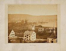 ZÜRICH - Braun, Adolphe (1812-1877). 'Vue Suisse'.