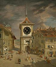 KÖNIG, FRANZ NIKLAUS(1765 Bern 1832)Zytglogge.