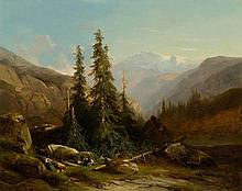 CALAME, ALEXANDRE(Vevey 1810 - 1864