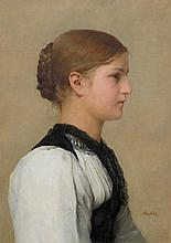 ANKER, ALBERT(1831 Ins 1910)Portrait of a Bernese