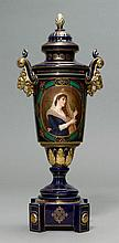 DECORATIVE VASE IN THE VIENNESE STYLE, Dresden,