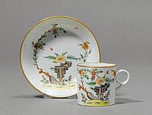 CUP AND SAUCER 'LITRON', Paris, 19th