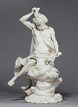 LARGE PORCELAIN FIGURE OF HEPHAESTUS, Nymphenburg,