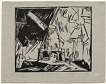 FEININGER, LYONEL(1871 New York 1956)Windmühle.
