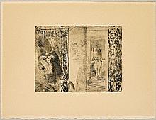 DEGAS, EDGAR(1834 Paris 1917)2 sheets.: Loges