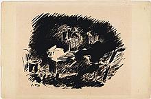 MANET, EDOUARD(1832 Paris 1883)Sous la lampe.