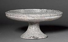 FOOTED BOWL, probably Ptolemaic, 3rd century