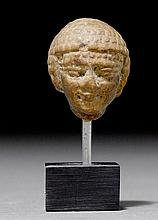 SMALL HEAD OF A WOMAN, Egypt, middle of the 1st