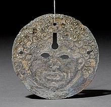 DISC WITH THE HEAD OF THE GORGON MEDUSA, probably