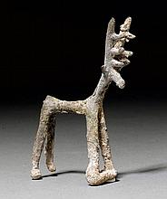 SMALL SCULPTURE OF A DEER, Luristan, ca. 1200-900
