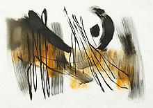FRITZ WINTER1905 - 1976Untitled. 1964.Mixed media