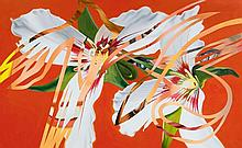 JAMES ROSENQUIST1933Sister Shrieks. 1987.Oil on