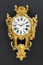 LARGE CARTEL CLOCK, Louis XVI, Paris circa