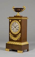 TABLE CLOCK,2nd Empire, France, 19th