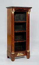 AN ETAGERE, 2nd Empire, France. Mahogany, black