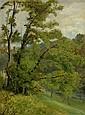 MENN, BARTHELEMY (1815 Genf 1893) Waldlichtung. Öl