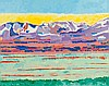 AVANTI, GIORGIO(1946, lives and works in Walchwil ZG and Arogno TI)Bernina. 2014., Giorgio Avanti, CHF2,200