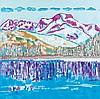 AVANTI, GIORGIO(1946, lives and works in Walchwil ZG and Arogno TI)Silvaplana. 20, Giorgio Avanti, CHF2,200