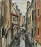 OGUISS, TAKANORI (Ibori 1901 - 1986 Paris) Venise.