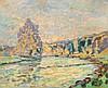 GUILLAUMIN, ARMAND(1841 Paris 1927)La Creuse à Genetin. Ca. 1905.Oil on canv, Armand Guillaumin, CHF18,000