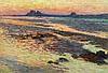 MARTIN, HENRI(Toulouse 1860 - 1943 Labastide-du-Vert)Rochers sur la mer.Oil, Henri Martin, CHF11,000
