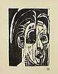 MÜLLER, ALBERT (Basel 1897 - 1926 Obino) Porträt