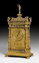 LARGE BRACKET CLOCK, Renaissance, the movement ca.