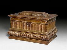 LARGE CASKET, Renaissance, Florence, 16th century.