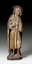 SAINT COSMAS OR DAMIAN, late-Gothic, Lower Rhine,