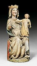 MADONNA ENTHRONED WITH THE CHRIST CHILD, Gothic,