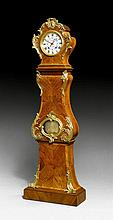 LONG CASE CLOCK, Louis XV, the housing stamped B.