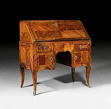 LADY'S DESK, Louis XV, probably by P. MIGEON