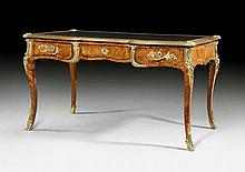 BUREAU PLAT, Louis XV and later, in the style of