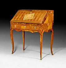 LADY'S DESK, Louis XV, probably West German or