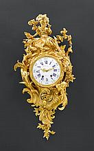 IMPORTANT CARTEL CLOCK 'DIANE ET L'AMOUR', in the