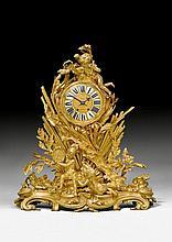 IMPORTANT MANTEL CLOCK 'A LA GLOIRE DU ROI', in