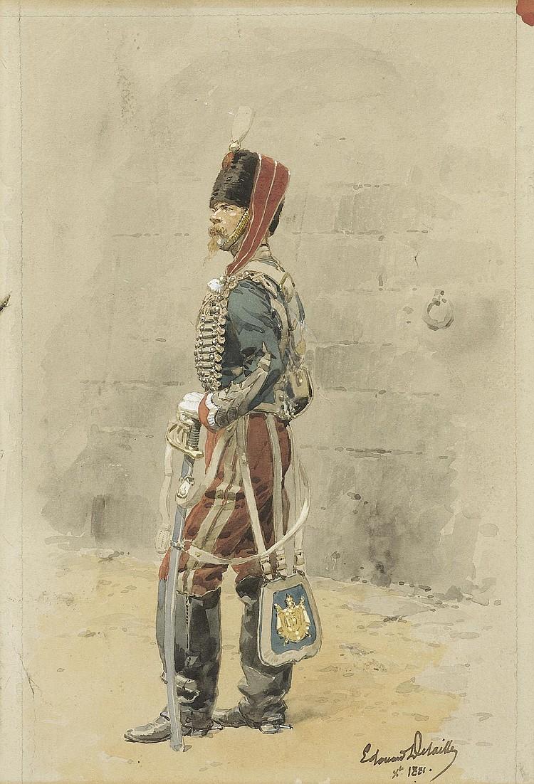 DETAILLE, JEAN BAPTISTE EDOUARD (1848 Paris 1912)
