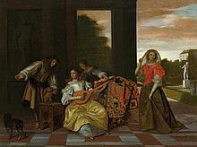 HOOCH, PIETER DE (Rotterdam 1629 - nach 1683