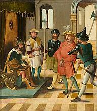 DEUTSCHLAND, UM 1520 Szene aus der Josephslegende: