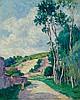 LUCE, MAXIMILIEN (1858 Paris 1941) Route de