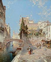 UNTERBERGER, FRANZ RICHARD (Innsbruck 1838 - 1902