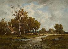 RICHET, LÉON (Solesmes 1847 - 1907 Paris) Broad