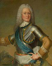 FRANCE, 18th CENTURY.  Portrait of Marc Antoine Front de Beaup