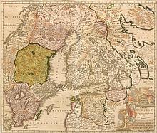 SCANDINAVIA - BALTIC STATES.- Regni Sueciae in omnes suas Subjace