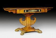 SIDE TABLE, Empire / Biedermeier (Karl Johan style), Stockholm, b