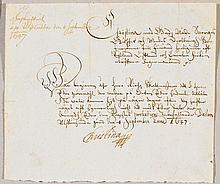 Christina, Königin von Schweden (1626-1689).